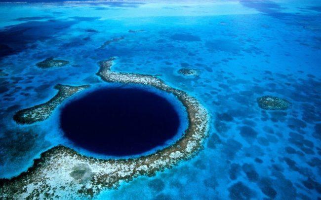 Красивейшее место на планете | Большая голубая (синяя) дыра