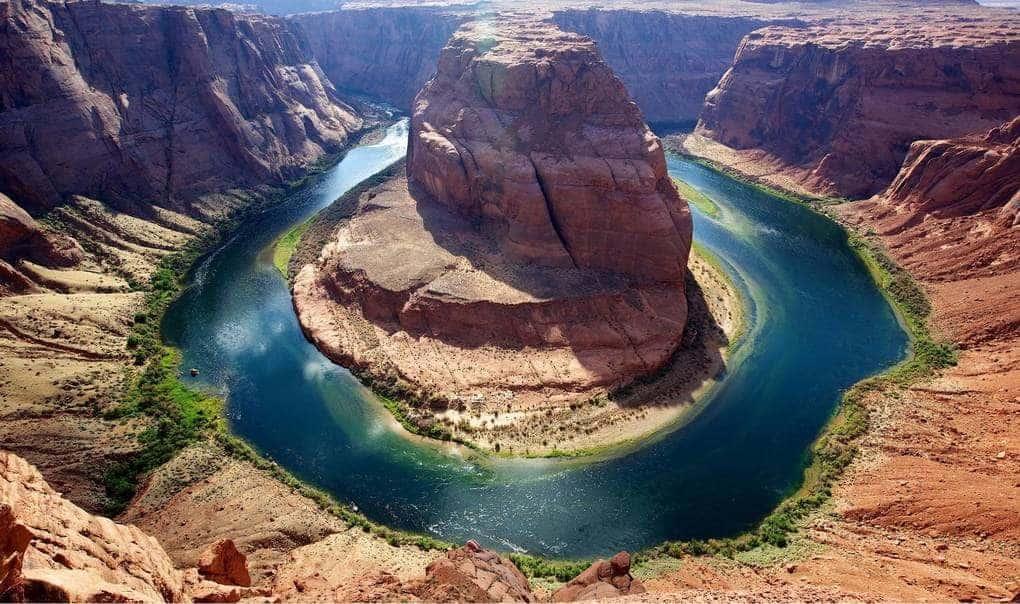 Подковообразная излучина реки Колорадо
