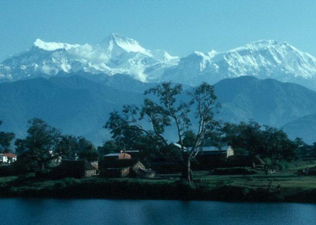 гора Манаслу