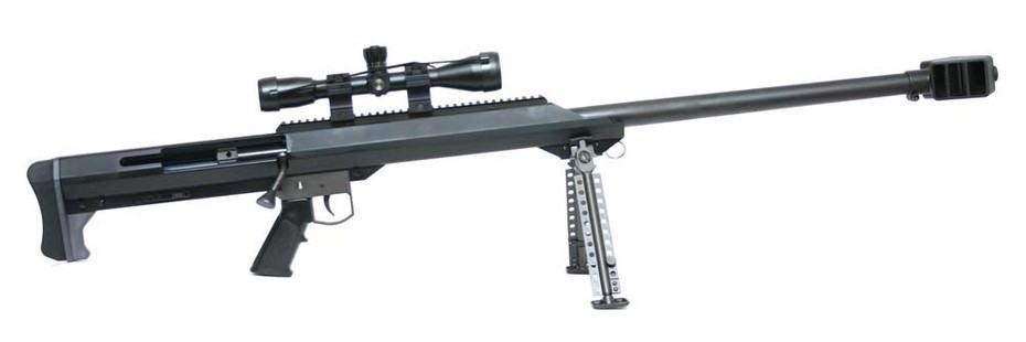 Barrett 50 Cal (США) | лучшая снайперская винтовка