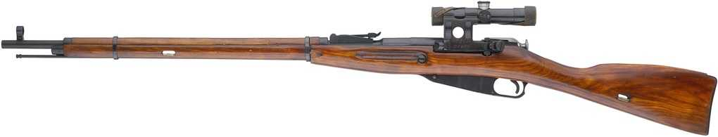 винтовка мосина снайперская