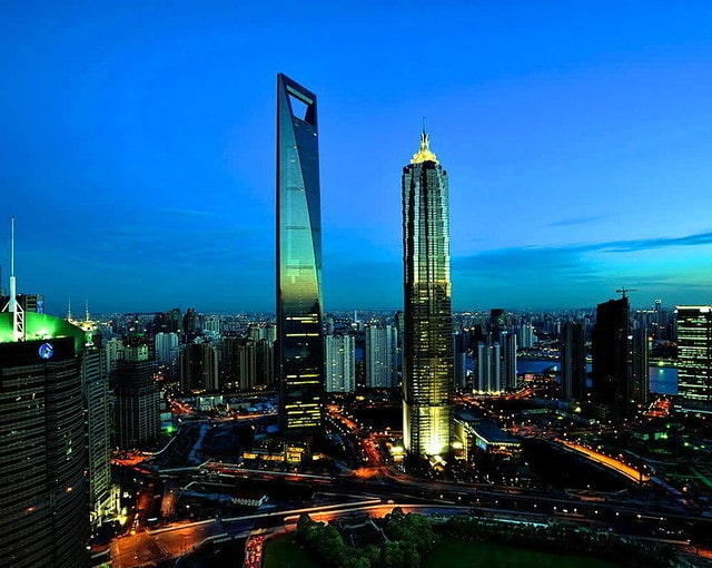 Всемирный финансовый центр (Китай, Шанхай)