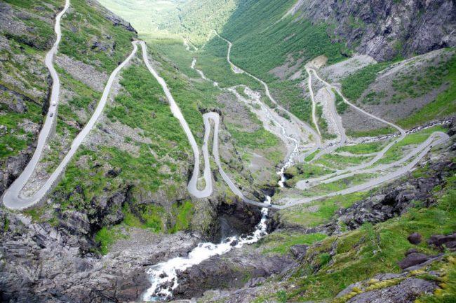 Лестница троллей (Путь Тролль)