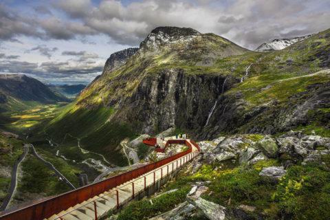11 невероятных дорог в Норвегии, по которым хочется пройти