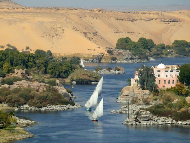 Нил - самая протяженная река в мире