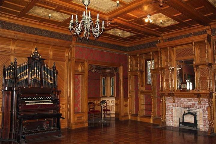 Дом Винчестеров в Сан Жозе, Калифорния