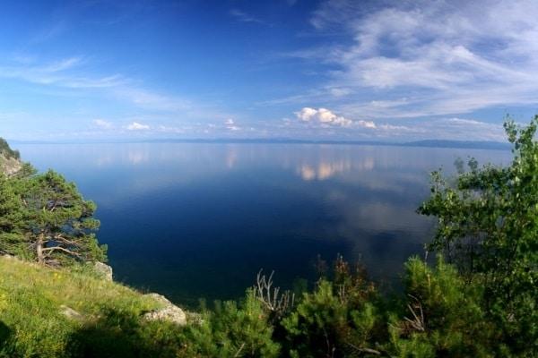Озеро Байкал - глубина озера 1600 м