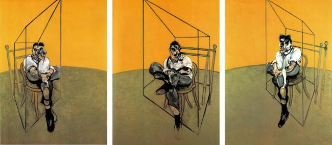 Триптих «Три наброска к портрету Люсьена Фрейда»