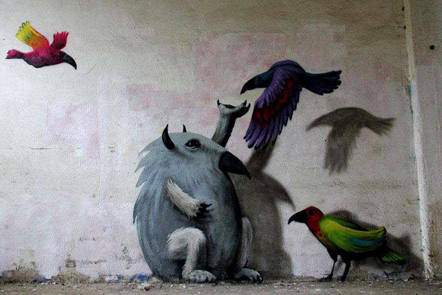 Monzter-animated-mural-art-by-Kim-Kwacz1__880