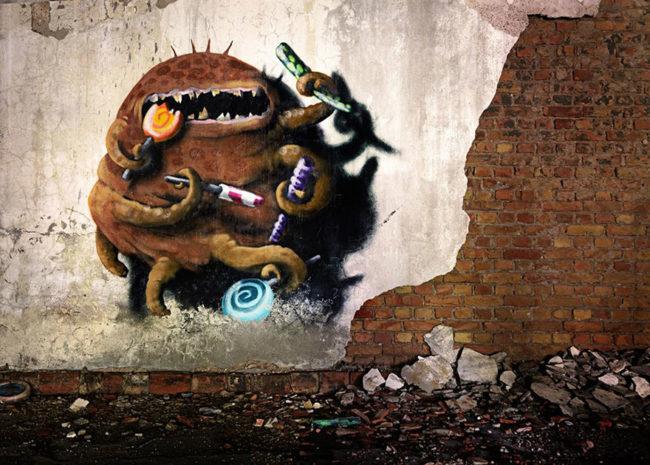 Monzter-animated-mural-art-by-Kim-Kwacz5__880