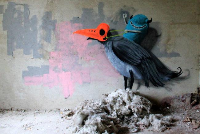 Monzter-animated-mural-art-by-Kim-Kwacz__880