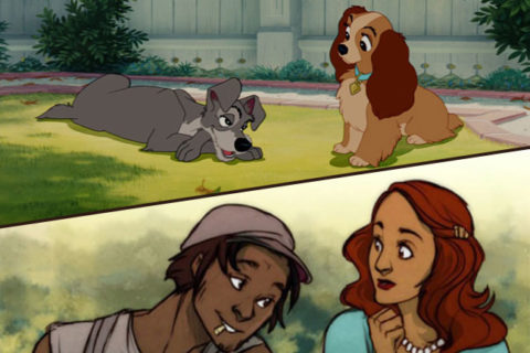 Животные мультфильмов Диснея если они были бы людьми