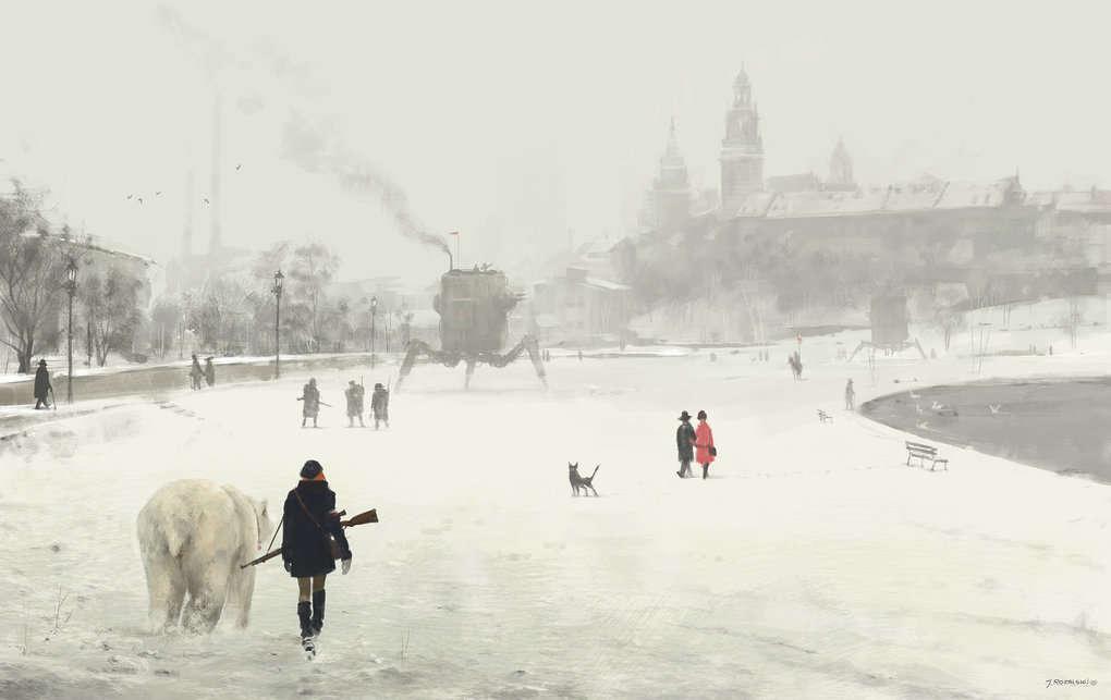 Странные картины Якуба Розальски