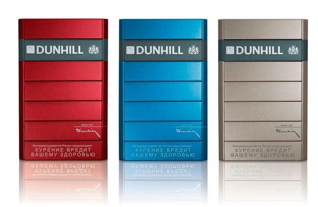 Dunhill, Сигареты