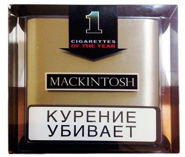 Mackintosh, сигареты