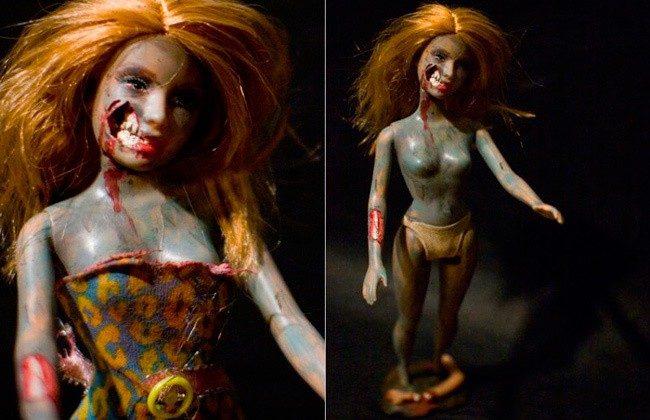 Барби-зомби