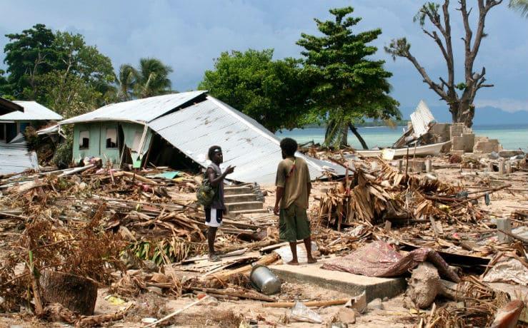 Цунами на Соломоновых островах и Новой Гвинеи в 2007 году
