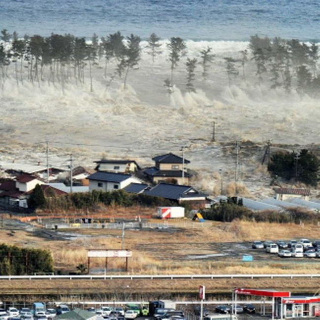 Цунами на Японских островах в 2011 году