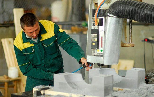 профессиональные рабочие в сфере промышленного производства