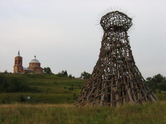 Деревня Николо-Ленивец