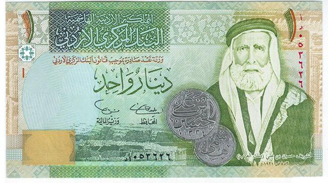 Иорданский динар (JOD)