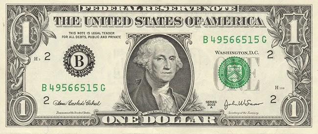 Американский Доллар (USD)