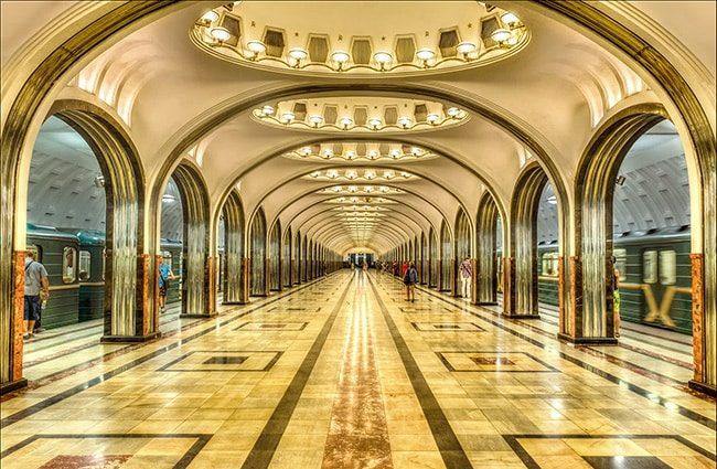 Подземка Москвы