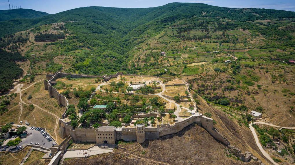 The Naryn-Kala fortress in Derbent, Dagestan (Ressia)