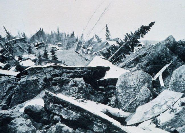 Землетрясение на Аляске в 1964 году