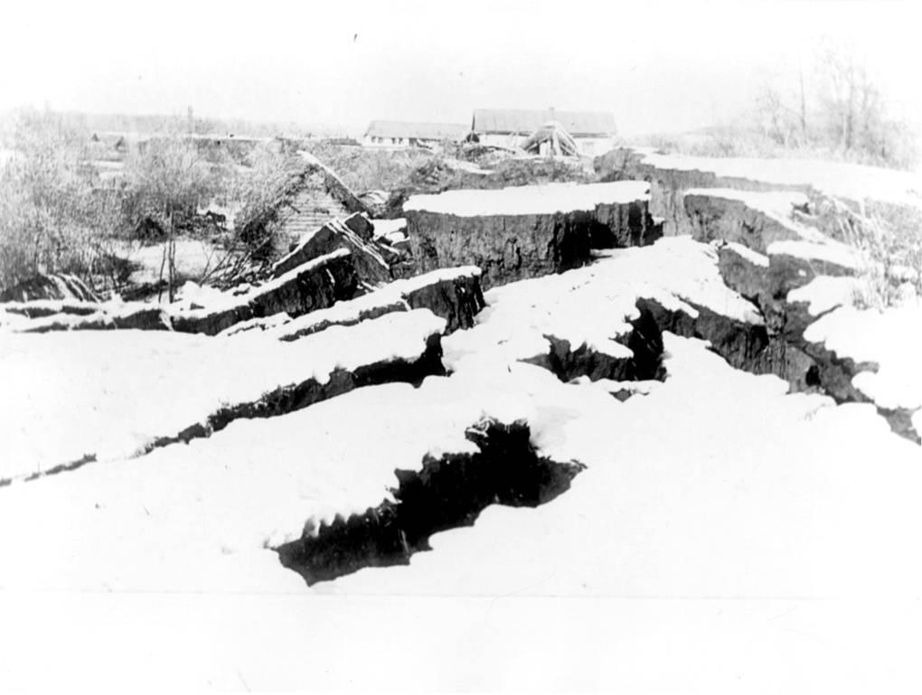 Кеминское землетрясение в Казахстане в 1911 году