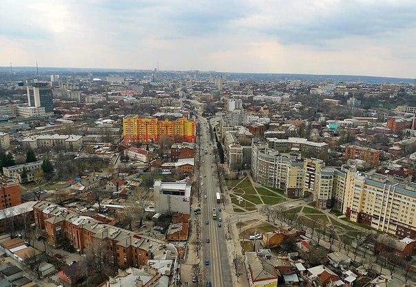 Московский проспект в Харькове (Украина)