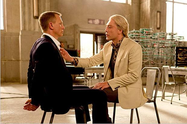 Сильва в «007 координаты «Скайвофол»»