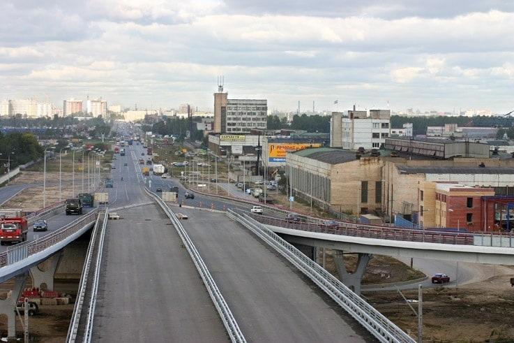 Улица Софийская в Санкт-Петербурге (Россия)