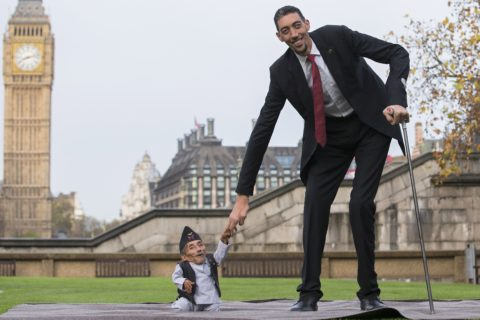 Топ 10 самые высокие люди в мире