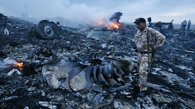 17 июля 2014 года самолет Боинг 777