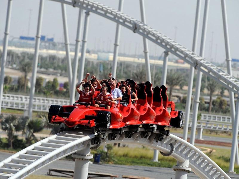 Formula Rossa. Абу-Даби