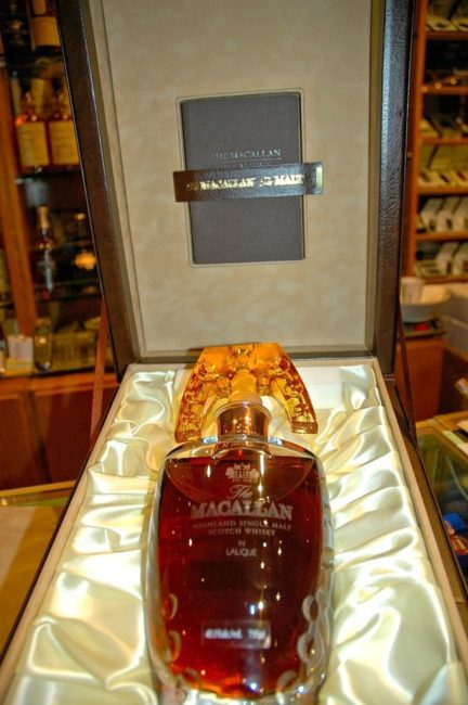 Macallan Lalique Crystal Decanter