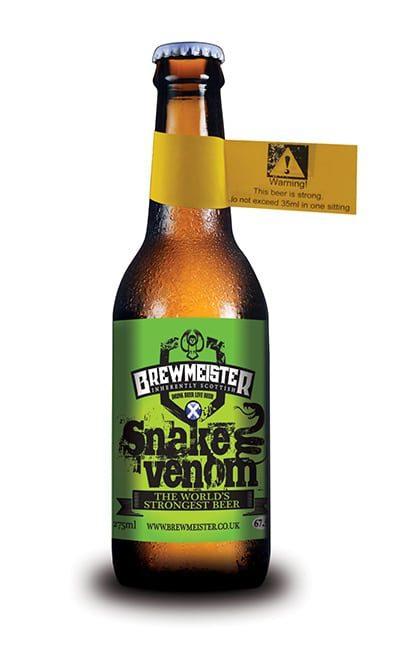 Пиво Snake Venom