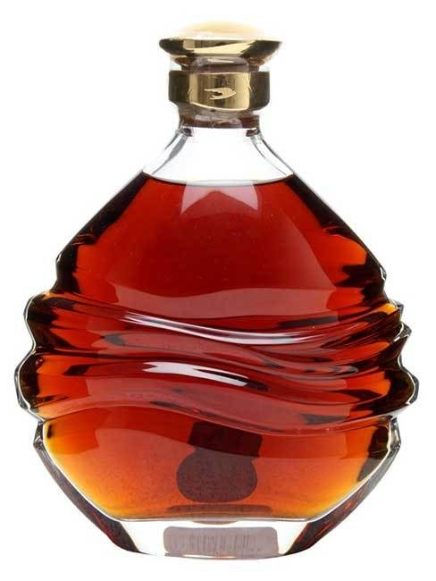 Martell Creation Cognac In Handcarved Baccarat Decanter