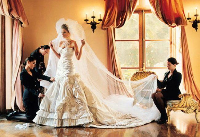 свадебный наряд Мелании Кнаусс