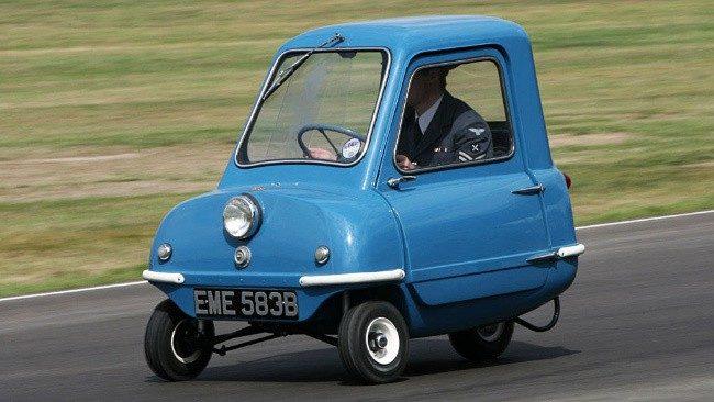 Самый маленький автомобиль в мире за всю историю