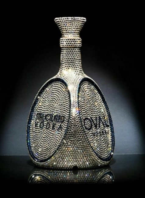 OVAL Vodka Bottle
