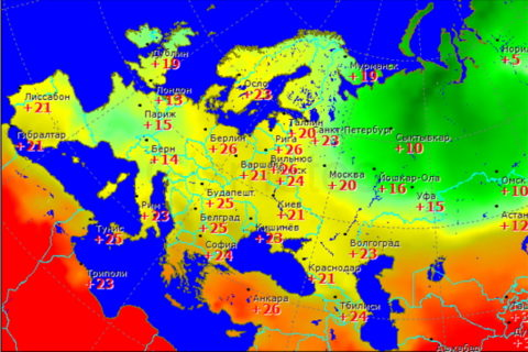 Самые точные сайты погоды
