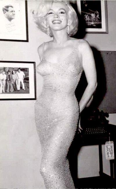 Платье Мерилин Монро