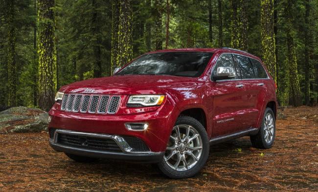 Jeep Cherokee - безопасный автомобиль для перевозки детей