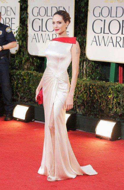 Платье Анджелины Джоли