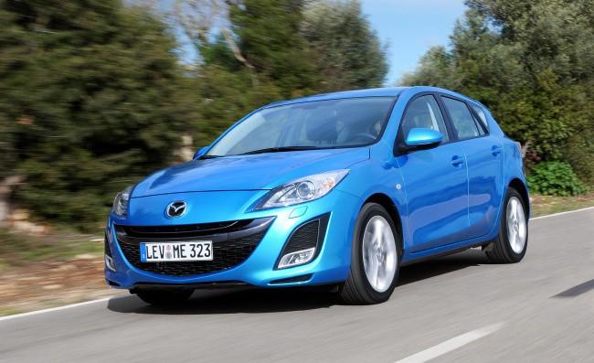 Mazda 3 - самый безопасный автомобиль в России