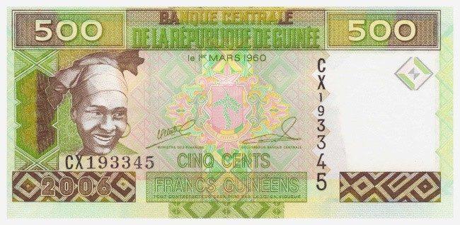 Гвинейский франк