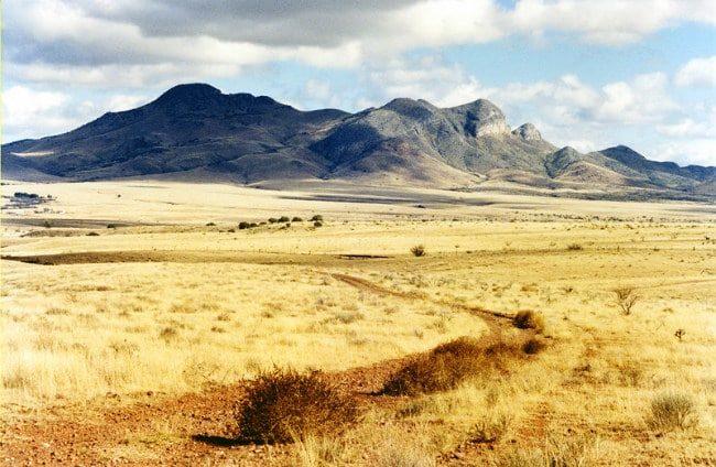 Патагонская пустыня