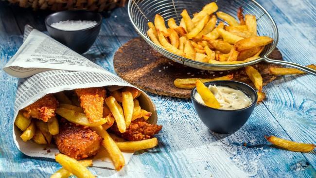 Чипсы и картофель фри